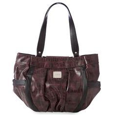 Purple croc-print! Ana for Demi Miche Bags! www.miche.com.au