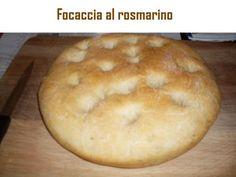 Focaccia al rosmarino - ricetta tradizionale
