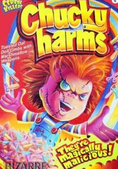 Chucky Charms Cereal