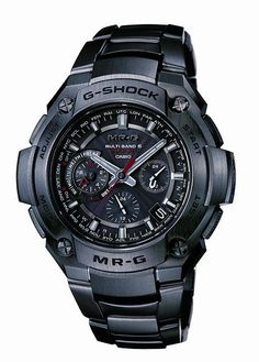 G-SHOCK watch MR-G full metal chronograph electric wave solar MRG-8100B-1AJF