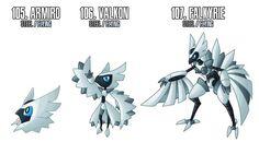 The three female-only Dark- Steel types