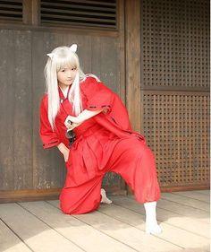 Fashion Anime Inuyasha Inuyasha cosplay costume-in Clothing from ...