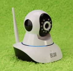 Wireless IP Camera with Audio Protect Your Home, Work or Office with This Wireless Smart IP Camera!