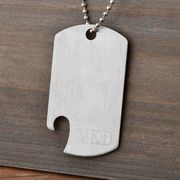Personalized Dog Tag Bottle Opener #Groomsmen #Gift #wedding cheapgroomsmengifts.com