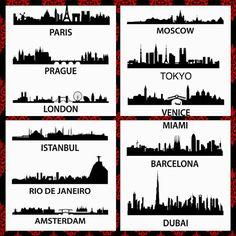 Popular Cities Around The World