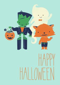 Poster | HAPPY HALLOWEEN! von Jay Fleck | more posters at http://moreposter.de