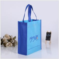wholesales 500pcs/lot 40Hx30x13cm foldable non woven bag/ Eco-friendly environmental bags/ Shopping bags customized printed logo