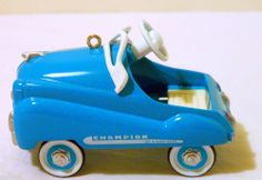 1994 HALLMARK MURRAY PEDAL KIDDIE CAR CHAMPION JET FLOW HALLMARK ORNAMENT #1