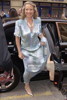 Princess Michael Of Kent, Patron, Arriving To Open The Fashion And Textile Museum In Bermondsey Street