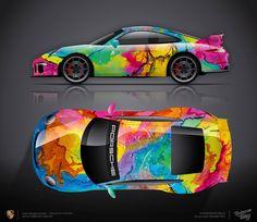 Design consept Porsche 911 GT3