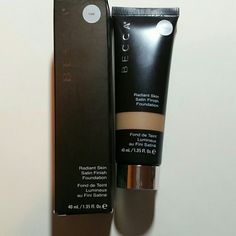 Becca Radiant Skin Satin Finish Foundation in Cafe Brand new in box. BECCA Makeup Foundation