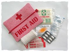very small First Aid kit (not this actual one but same ideaa) [I think I would take a couple Bandaids next time and leave it at that. Although Benadryl would ahve been a good idea. Embroidery Monogram, Machine Embroidery Applique, Embroidery Fonts, Embroidery Designs, Machine Quilting, Sewing Crafts, Sewing Projects, Fete Ideas, Sewing School