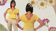 Crochet Shorts Pattern, Crochet Crop Top, Patterned Shorts, Jumpsuit, Crop Tops, Youtube, Dresses, Fashion, Crochet Roses