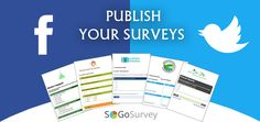 Use ‪#‎SocialMedia‬ to publicize your ‪#‎surveys‬ and increase response rates.