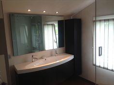 Abitazione privata #illuminazione #bagno #veletta #cartongesso ...