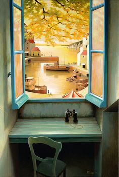 Michiel Schrijver - acrylic on canvas