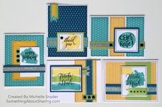 CTMH Fundamental Papers make fabulous colorful cards. Click here for a reproducible card workshop. #SomethingAboutSharing #CTMHfundamentals #alloccasioncards