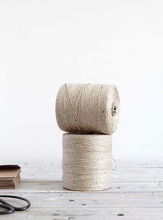 SUPPLY PAPER CO. | oversized jute twine spool