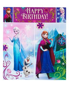 Amazon.com: Frozen Wall Decorations: Toys & Games5-piece wall decorating kit Over 6 ft. tall It's winter in Arendelle! This fun Frozen party decorating kit features Elsa the Snow Queen, Princess Anna, and Olaf!