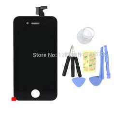 Cheap Mobile Phone LCDs, Buy Directly from China Suppliers: Brand New -Replacement For Iphone 4S Assembly LCD digitizer touch screen Display 8*Tools