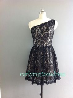 Short Lace Bridesmaid Dress Black Ivory White Red Lace Reception Dress Lace Prom Dress Plus Size Evening Formal Dress Wedding Party Dress