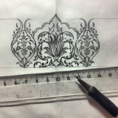 DILARA YARCI Islamic Paintings, Persian Motifs, Islamic Patterns, Turkish Art, Islamic Art Calligraphy, Tile Art, Illuminated Manuscript, Pattern Art, Textures Patterns