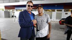 Arnold Schwarzenegger & Neymar Jr. #FCBarcelona #Neymar #FansFCB #Football #FCB #Schwarzenegger #ArnoldSchwarzenegger