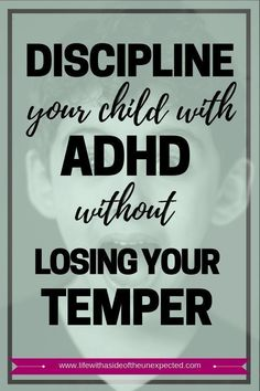 Check out these ADHD Kids Discipline Tips for Parents and Learn How to Discipline Your ADHD Child Without Losing Your Temper. These positive behavior management strategies for ADHD help your children learn self-control while you remain a calm parent. Positive Behavior Management, Behavior Management Strategies, Adhd Strategies, Positive Discipline, Kids Discipline, Parenting Teens, Good Parenting, Parenting Hacks, Peaceful Parenting