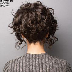Sonoma Wig Rene of Paris Wigs Canada – Wig Shop Hair Beauty Canada Layered Curly Hair, Curly Hair Cuts, Short Hair Cuts, Curly Hair Styles, Short Curly Bob, 3c Hair, Medium Curly, Short Curly Hairstyles For Women, Curly Bob Hairstyles