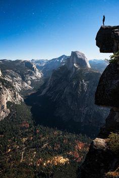 Glacier Point Yosemite, California