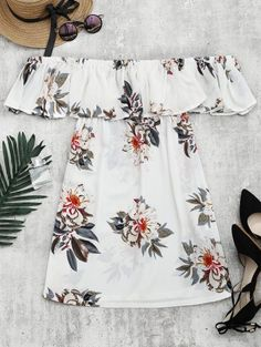 GET $50 NOW | Join Zaful: Get YOUR $50 NOW!http://m.zaful.com/floral-print-flounce-hem-shift-dress-p_288320.html?seid=4093044zf288320