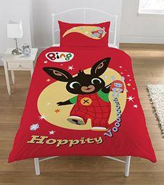 """From 20.11 Bing Bunny """"hoppity Vooosh"""" Duvet Set Multi-colour Single"""