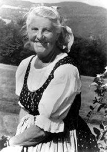 Maria Von Trapp.