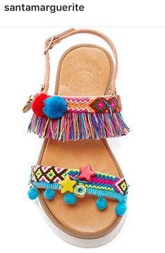Sandália cores verão