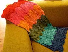 manta zigzag bebe tejido lana baby boutique tejidos bebe - Buscar con Google