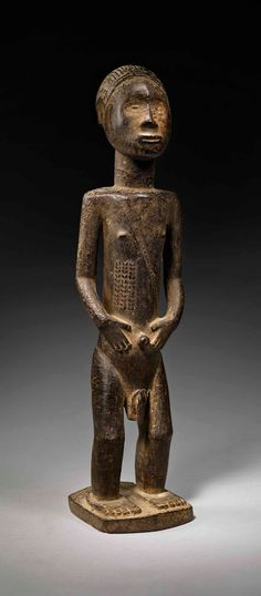 Statue, Michel, Tribal Art, Republic Of The Congo, African Art, Metal Working, Sculptures, Carving, Masks