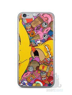 Capa Iphone 6/S Homer Simpson Bêbado - SmartCases - Acessórios para celulares e tablets :)