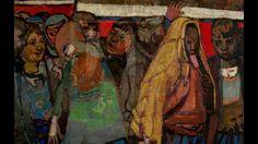 Joan Eardley  瓊·厄德利 (1921–1963)  Expressionism Scottish