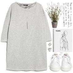 A fashion look from September 2015 featuring MANGO dresses and Ash sneakers. Browse and shop related looks.