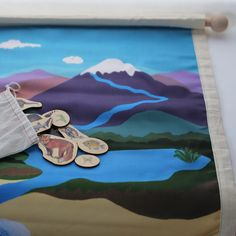 The Land, Air and Water Mat provides an illustrated landscape for children to sort animals according to whether they move on the land, air or in the water. Anim