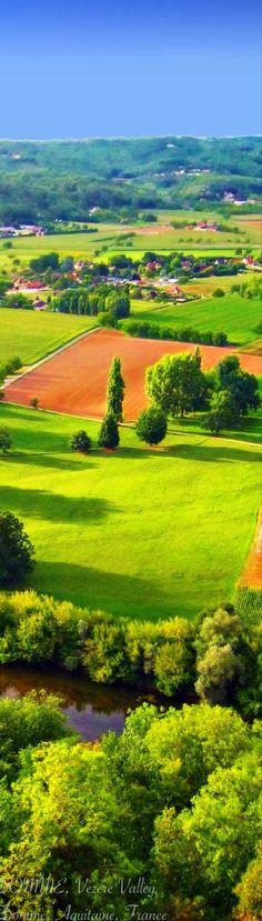 Vezere Valley, Aquitaine, France