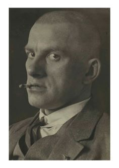 Christie's, 10 October 2017, New York, Lot 29 ALEXANDER RODCHENKO (1891–1956) Vladimir Mayakovsky, 1924 Estimate  USD 20,000 - USD 30,000, gelatin silver print stamped photographer's credit, titled and dated by Varvara Stepanova, the photographer's wife, in ink (verso) image/sheet: 11 3/8 x 7 5/8 in. (28.9 x 19.4 cm.)