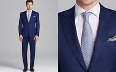 Canali Siena Windowpane Check Suit - Classic Fit
