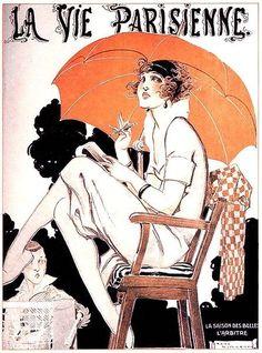 La Vie Parisienne ~ René Vincent | #Magazines #LaVieParisienne #Vincent