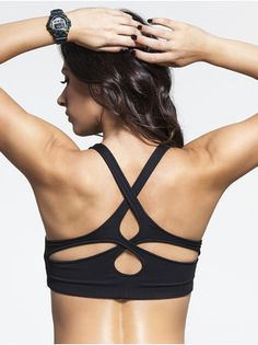 Now 30% off! Cross Back Bra