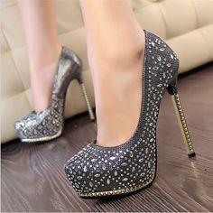 Model Sepatu Wanita High Heels Cantik Tahun 2016