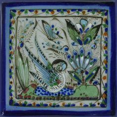 Ken Edwards Collection - Pato Y Mariposa – Mexican Tile Designs