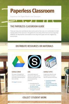 Paperless Classroom tools via Smore