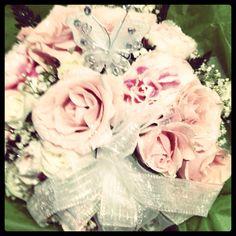 Communion flowers.