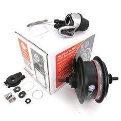 Bike Hubs - NuVinci N360 Internal Gear Bicycle Rear Bike Hub Black 32 H 6Bolt Disc Brake * Visit the image link more details.